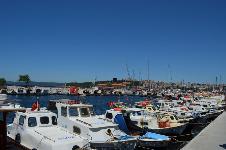 seafront of the city of Canakkale