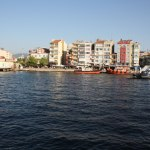 along the seaside of Canakkale