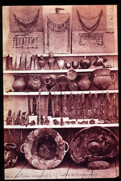 archaeological findings of Troy