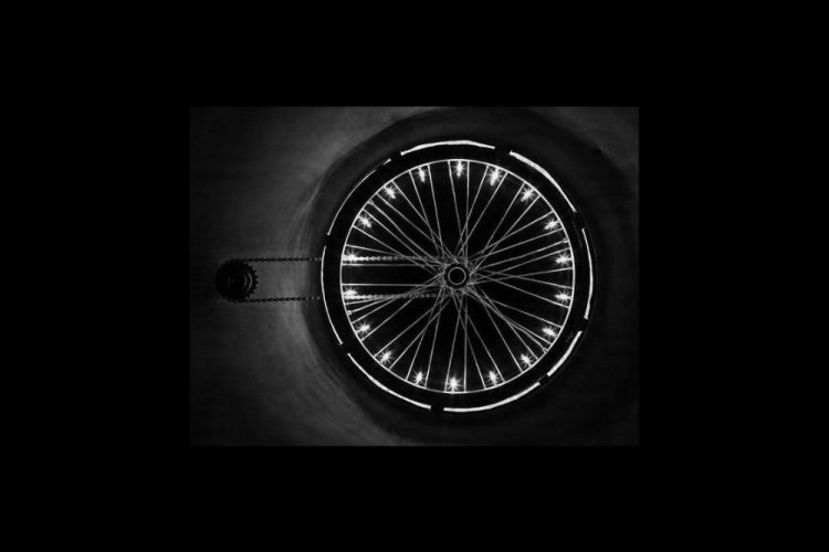 innovative lighting art, wheel light 2