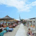Greece Halkidiki Paliouri beach, best beach bars in Halkidik 2i Lefki Ammos