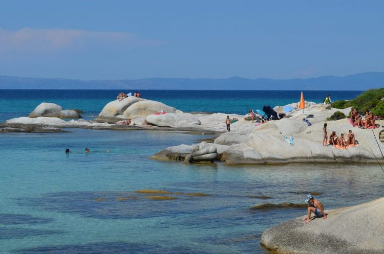 summer time in the most picturesque beach in Sithonia, Kavourotrupes 13