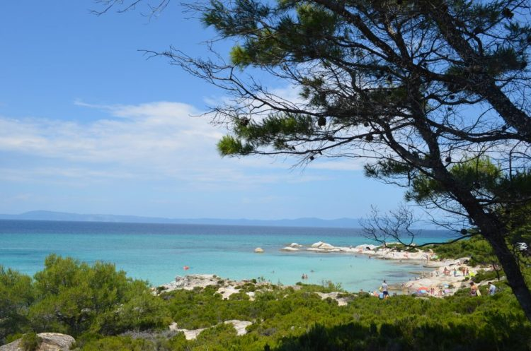 summer time in the most picturesque beach in Sithonia, Kavourotrupes 5