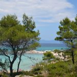 summer time in the most picturesque beach in Sithonia, Kavourotrupes