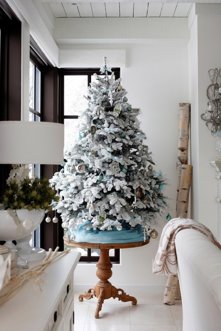 40 Awesome and Inspiring White Christmas Decorating Ideas ...