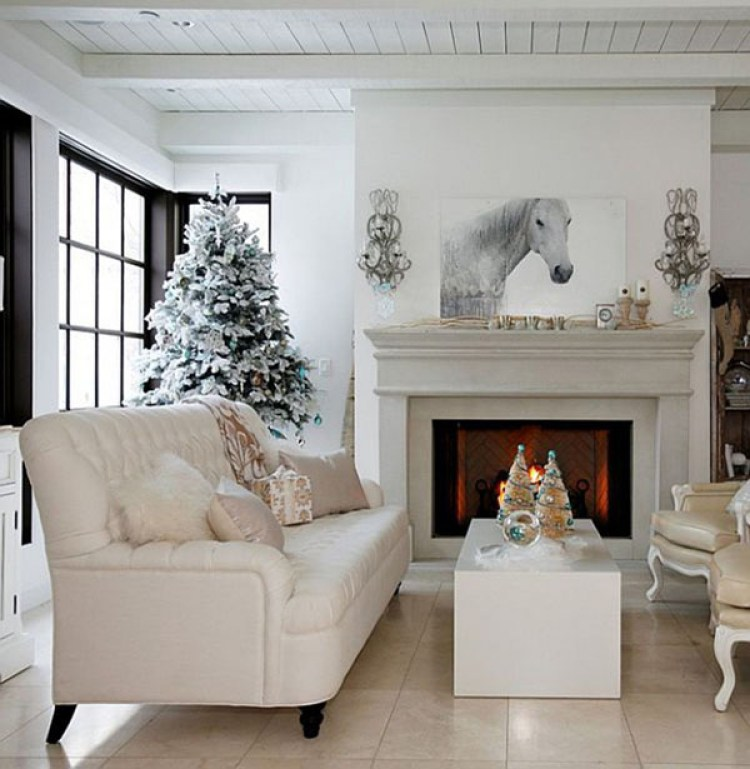 creative white christmas decoration 5