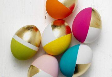 Inspiring Ideas to dye easter eggs