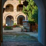 architectrure of the monasteries of Athos, Chalkidiki 3