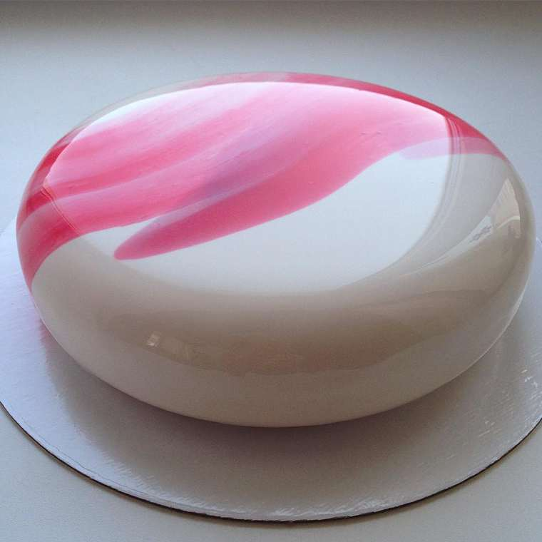 Creative Mirror Marble Cakes by Olga Noskova
