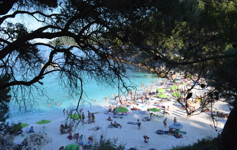 most beautiful beach in Thassos, marble beach 6