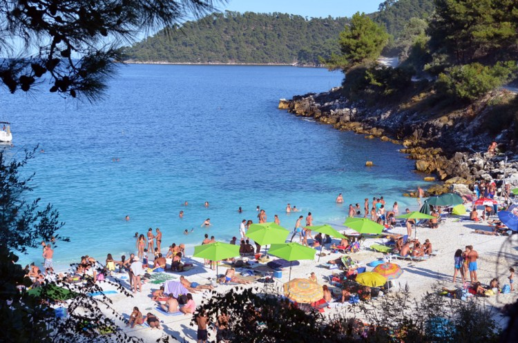 most beautiful beach in Thassos, marble beach 7