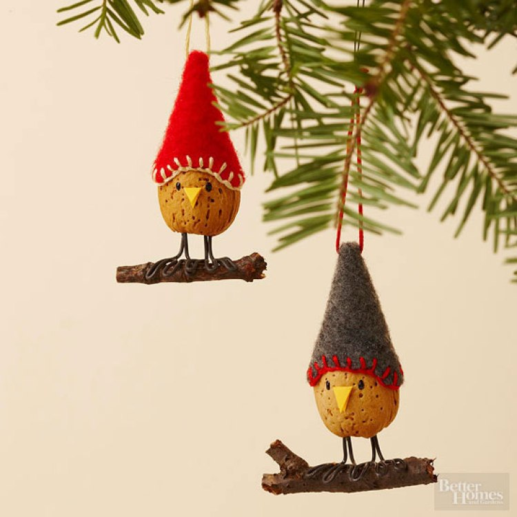 unusual holiday handmade crafts, almond