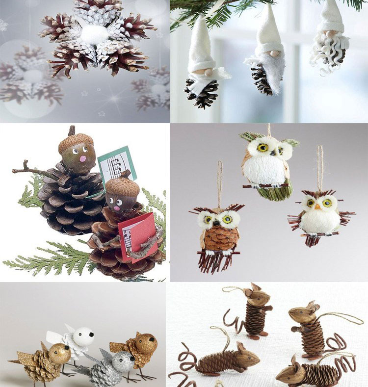 Pine Cone Christmas Ornaments To Make.40 Easy And Cute Diy Pine Cone Christmas Crafts Moco Choco