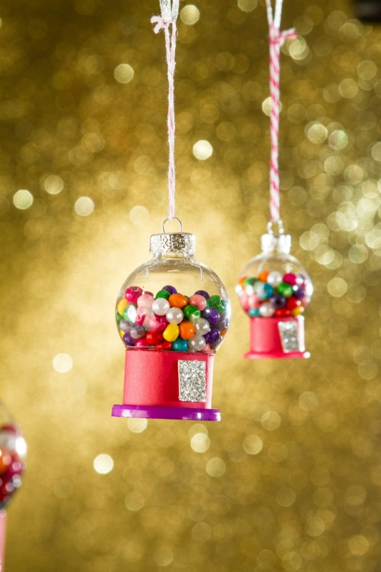 unusual holiday handmade crafts, gumball