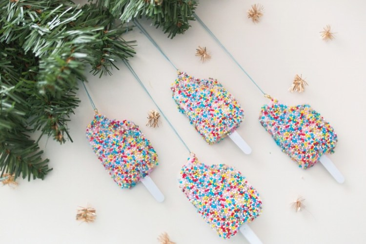 unusual holiday handmade crafts, popsicle