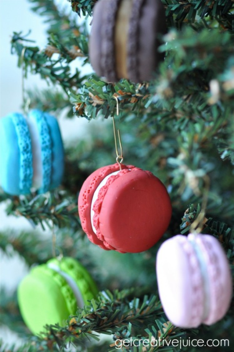 unusual holiday handmade crafts, macarons
