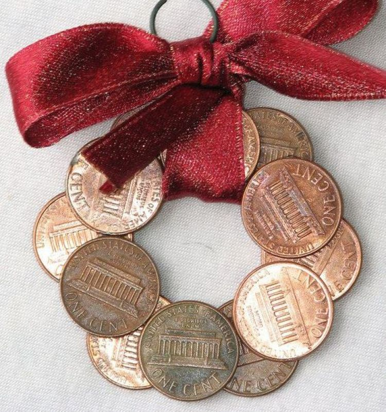unusual holiday handmade crafts, penny