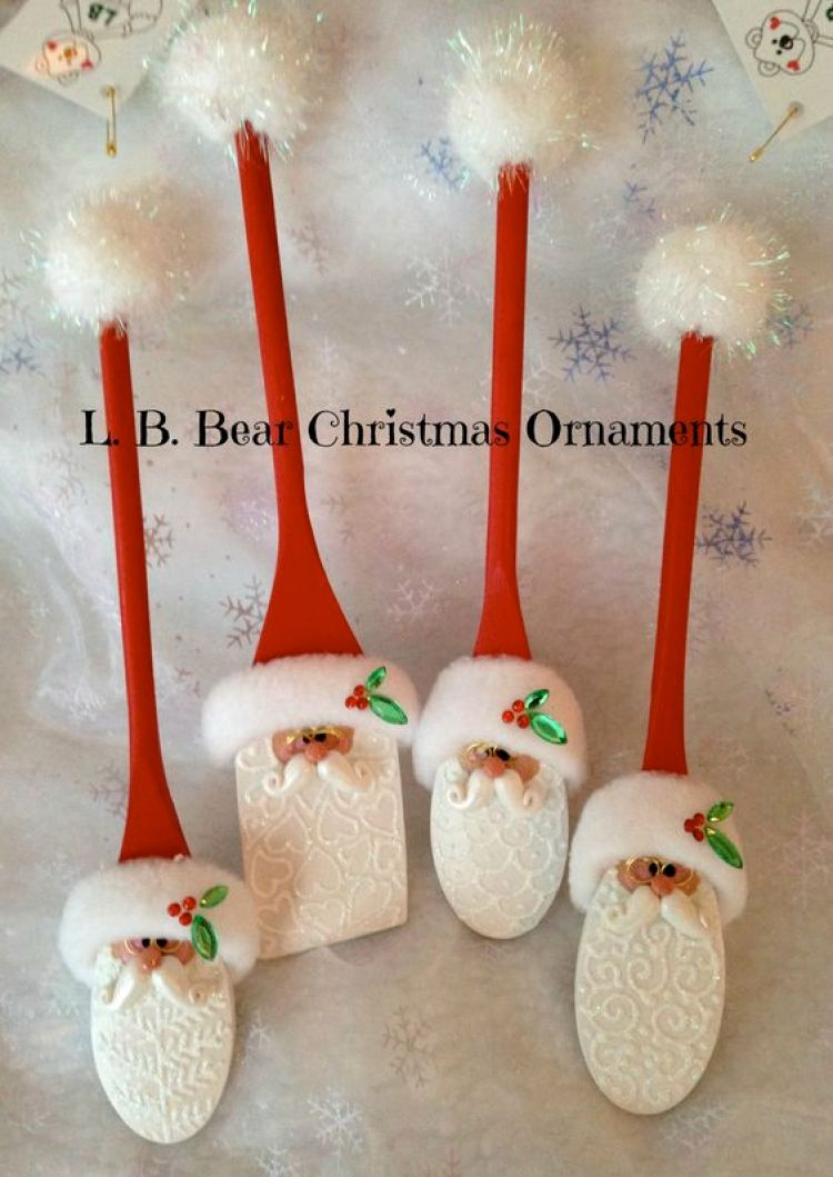 unusual holiday handmade crafts, wooden spoon
