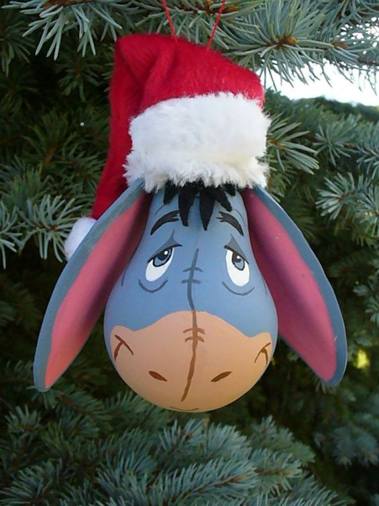 unusual holiday handmade crafts, donkey