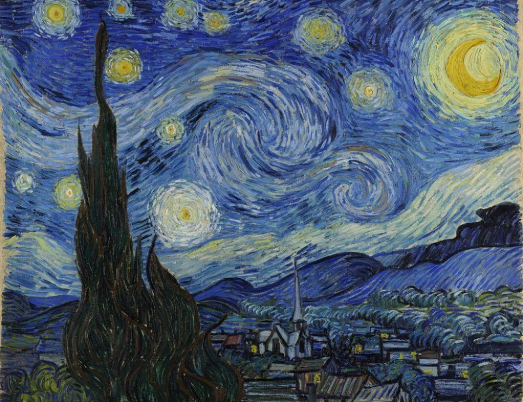 art history, most popular paintings done by famous painters