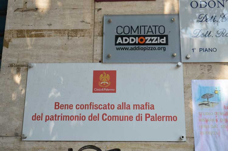 fight against Mafia in Palermo