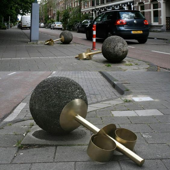 creative art on streets of Netherland, jewel