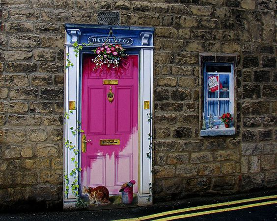 unusual and creative painted doors Knaresborough & Art Archives - Moco-choco