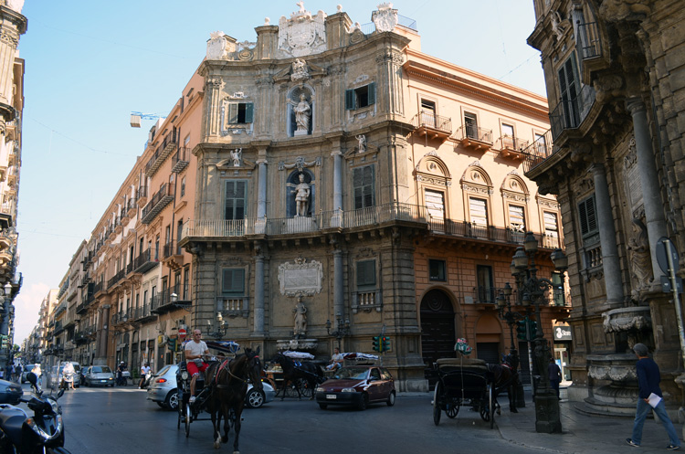 architecture in the city of Palermo, Sicily 8