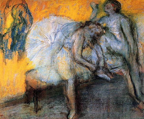 art history, most popular paintings done by famous painters, Degas