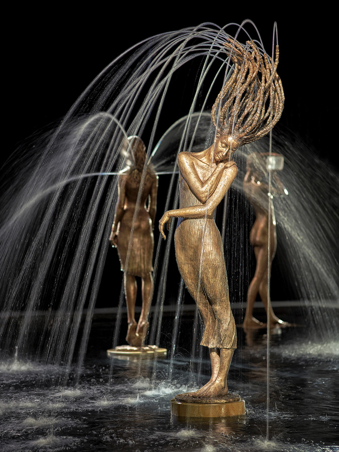 Stunning Water Fountain Sculptures by Malgorzata Chodakowska