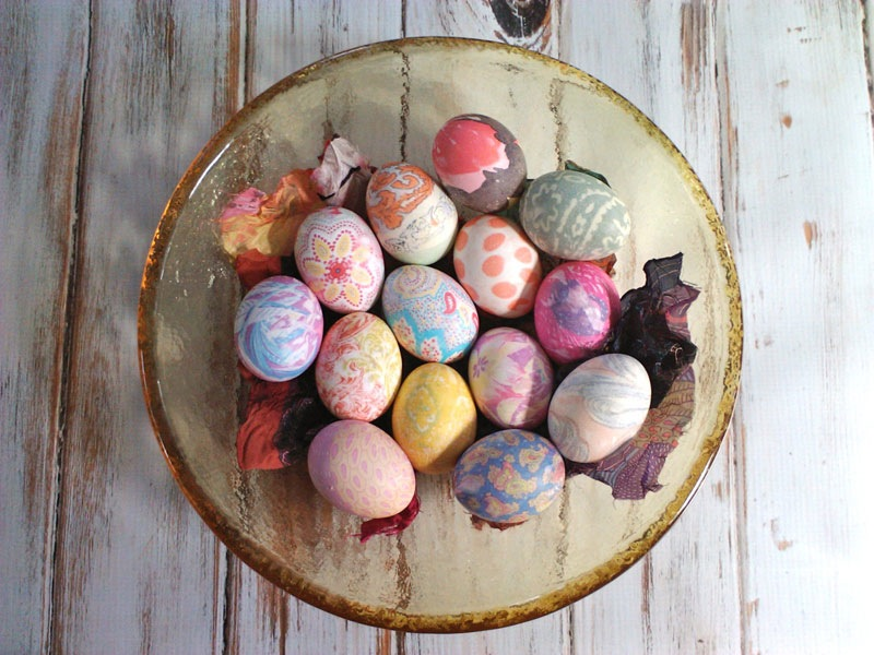 fun ideas to color easter eggs