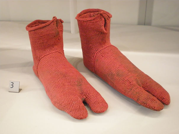 Oldest Objects Ever Found, Egyptian wool socks