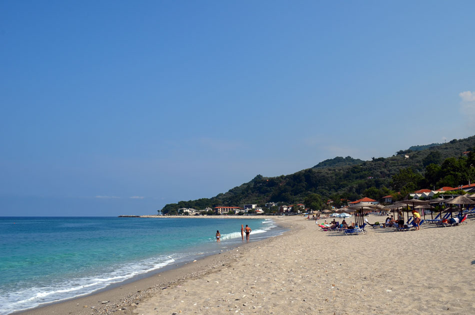 the most popular beaches of Pilio, Horefto 3