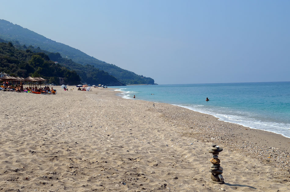 the most popular beaches of Pilio, Horefto 4