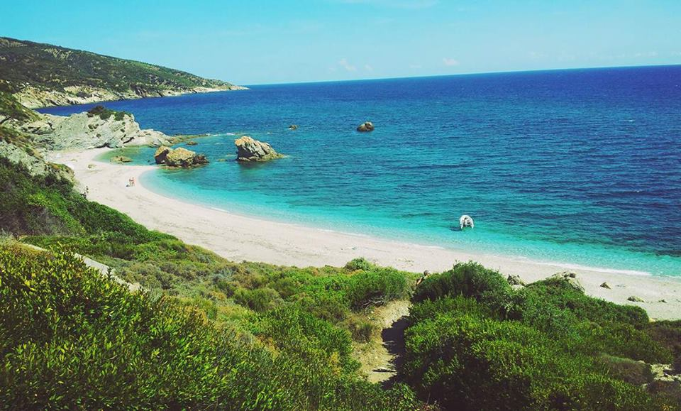 the most popular beaches of Pilio, Potistikon 11