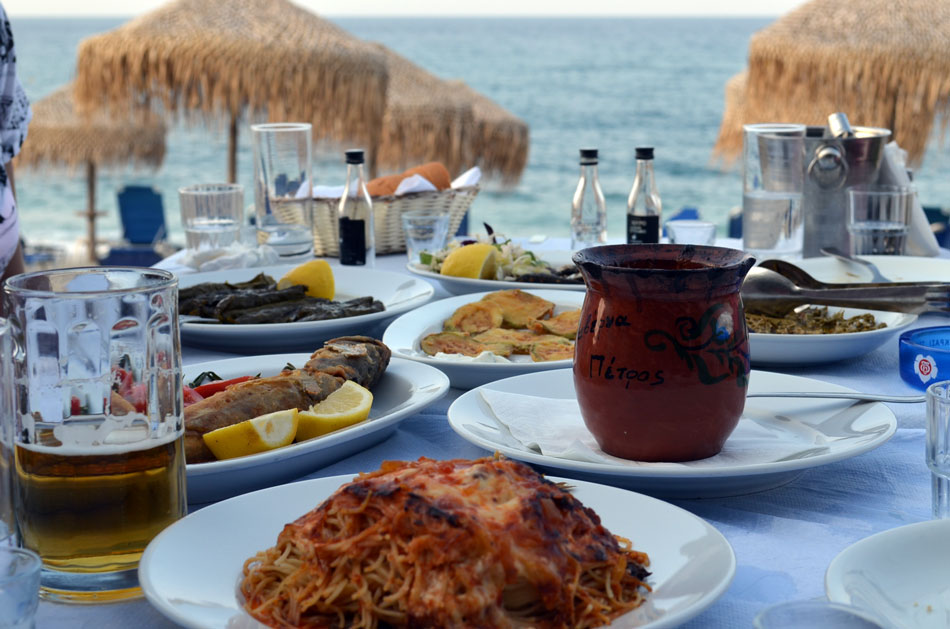 the most popular sea side restraurants of Pilio, Horefto
