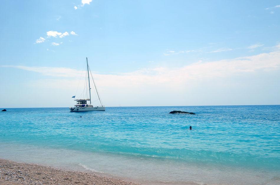 Porto Katsiki Beach, Lefkada-One the Most Beautiful Beaches in Mediterranean.