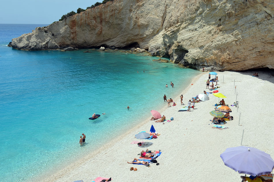 most popular beach in Lefkada island, Greece 12