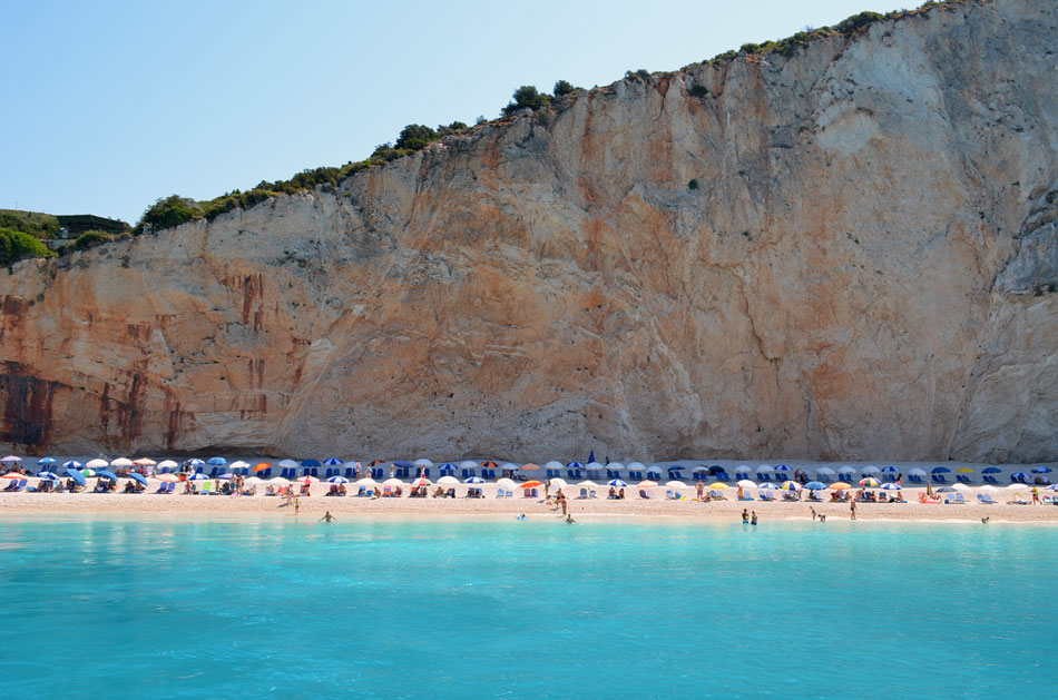 most popular beach in Lefkada island, Greece 17