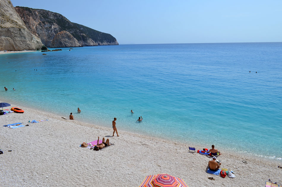 most popular beach in Lefkada island, Greece 7