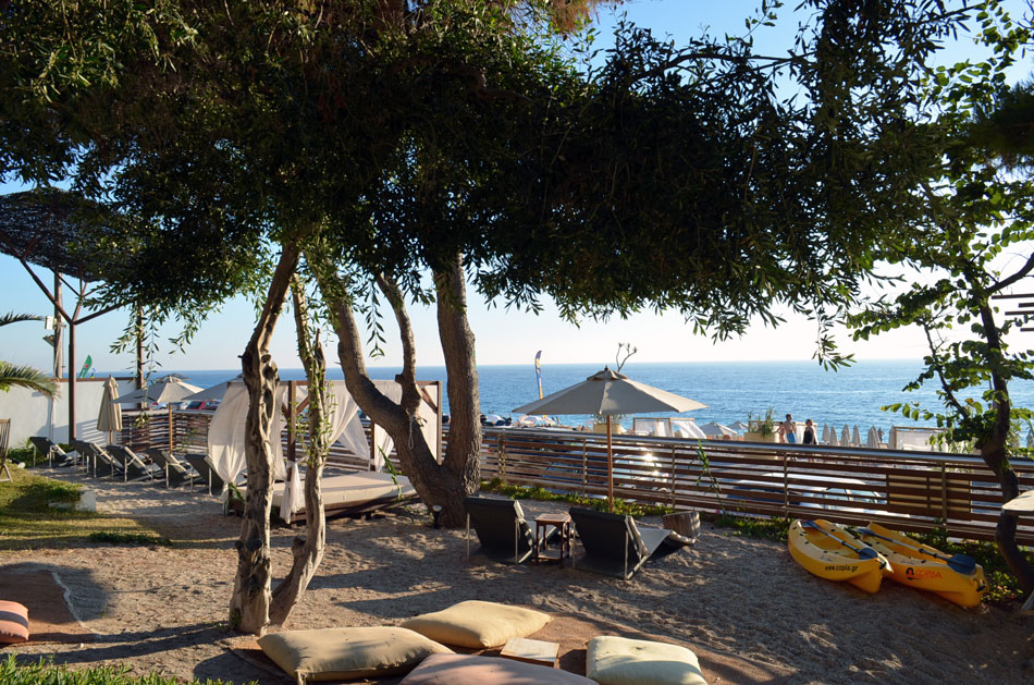 the best beach bar in Lefkada, copla