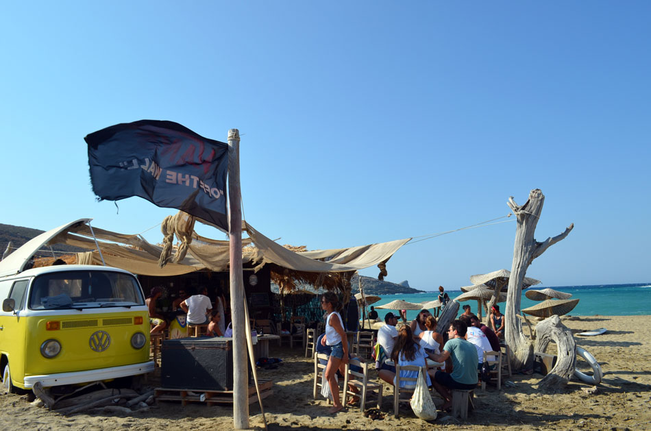 the best beach bar in Greece, Tinos 8