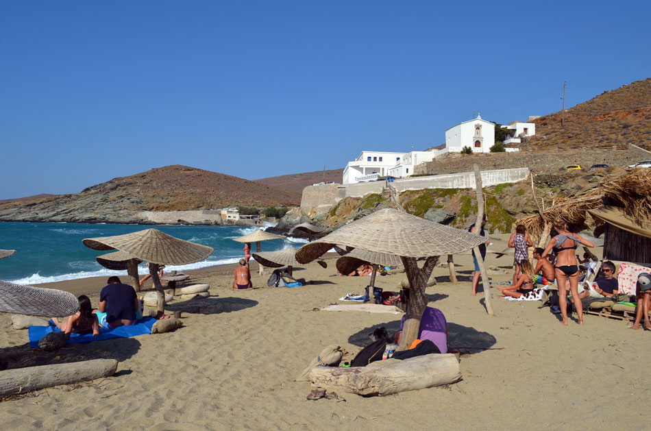 the best beach bar in Greece, Tinos 10