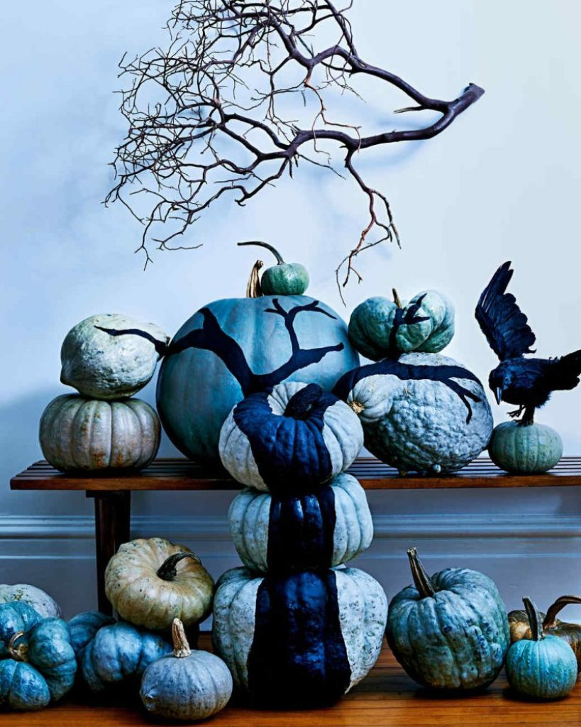 best halloween painted pumpkin decoration 11