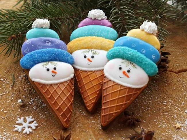 Creative snowman recipes for christmas table 7