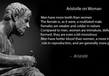 Things Aristotle got wrong