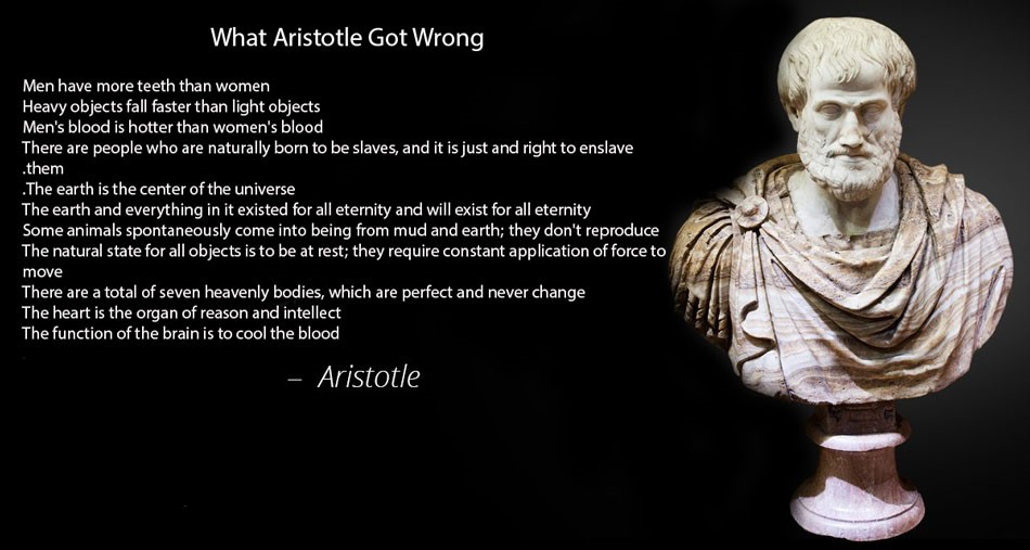 Things Aristotle got wrong 2