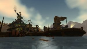 Thousand Needles Barge