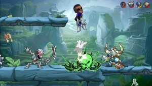 Brawlhalla In Game Fight