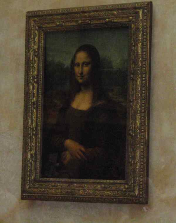Mona Lisa Painting Louvre